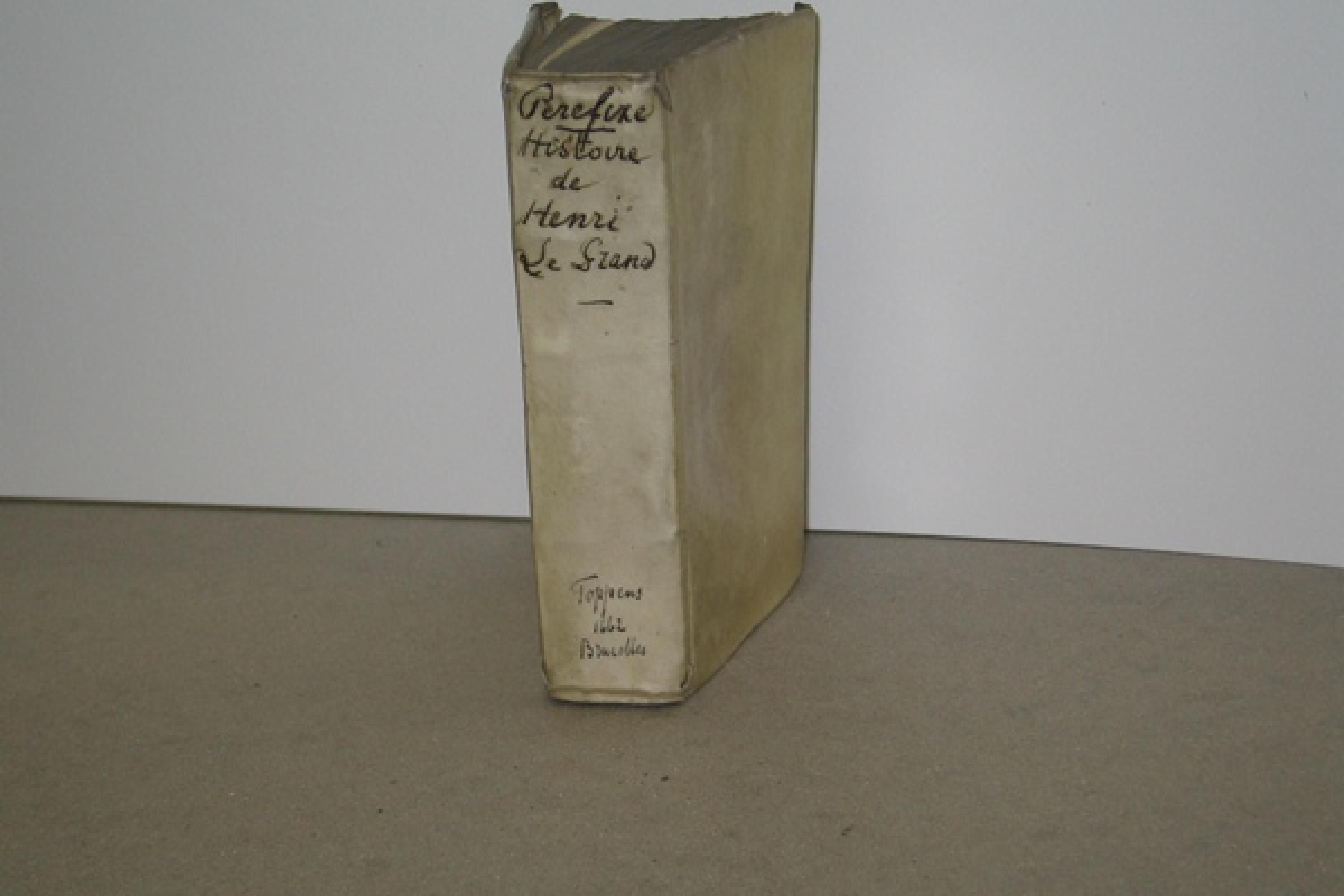 Vellum bound book from Elsevier Collection